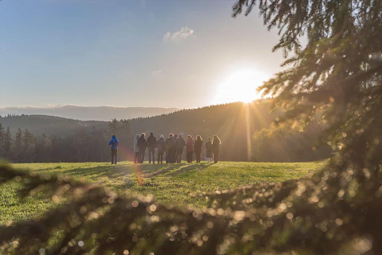 Sonnenaufgang zu Ostern